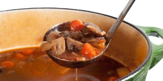 Soup with Ladle