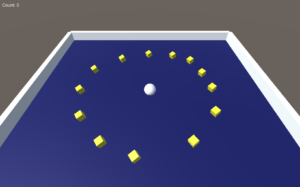 Roll a Ball Unity Game