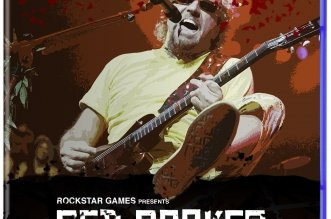 Red Rocker Redemption Sammy Hagar PS4 Game Cover