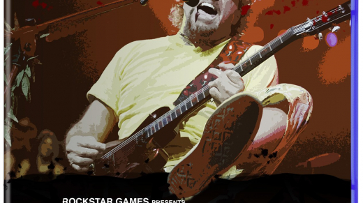 Red Rocker Redemption Sammy Hagar PS4 Game Cover